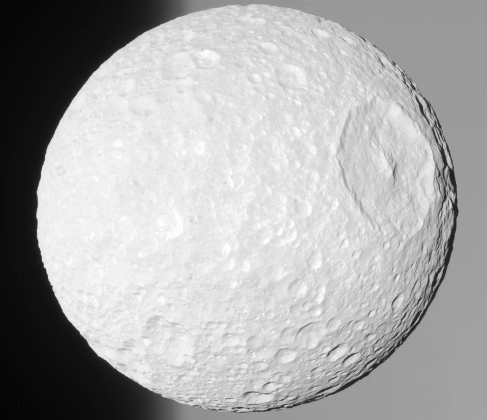 Mimas -- or is it the Death Star?