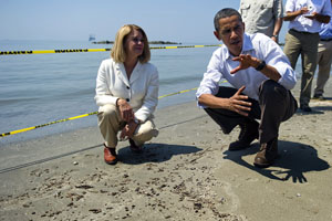 Barack obama, oil spill