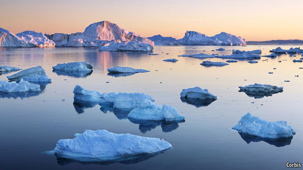 Image result for melting glaciers arctic circle
