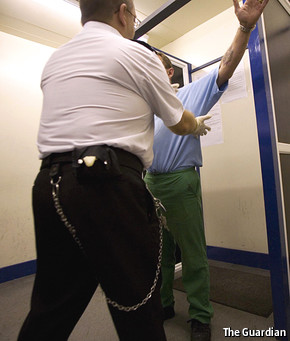 Need to find an article on easy access to drugs in prison?