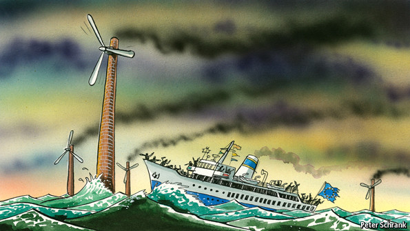 Europe's energy woes