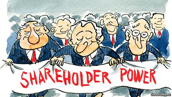 Shareholder Activism Corporate Upgraders The Economist