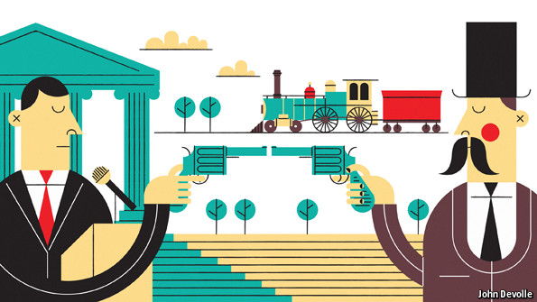 A world of robber barons | The Economist