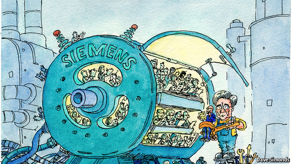 simens bribery scandal Siemens drew a line under its massive bribery scandal on monday when it said it would pay €1bn ($136bn) in fines to us and german authorities and appointed an independent watchdog to monitor .