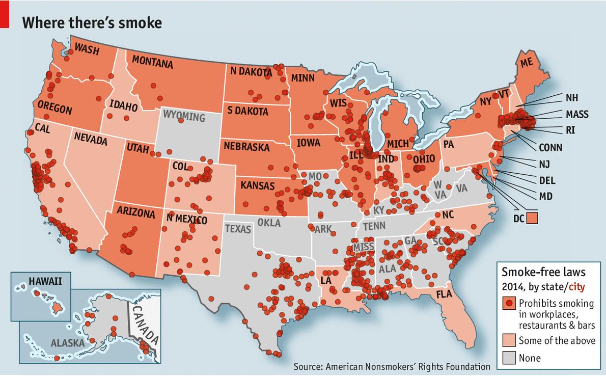 ban smoking in public places essay