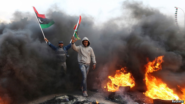 Libya's civil war: That it should come to this | The Economist Arab Spring Violence