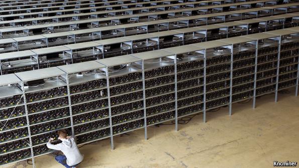 bit coin mining machine