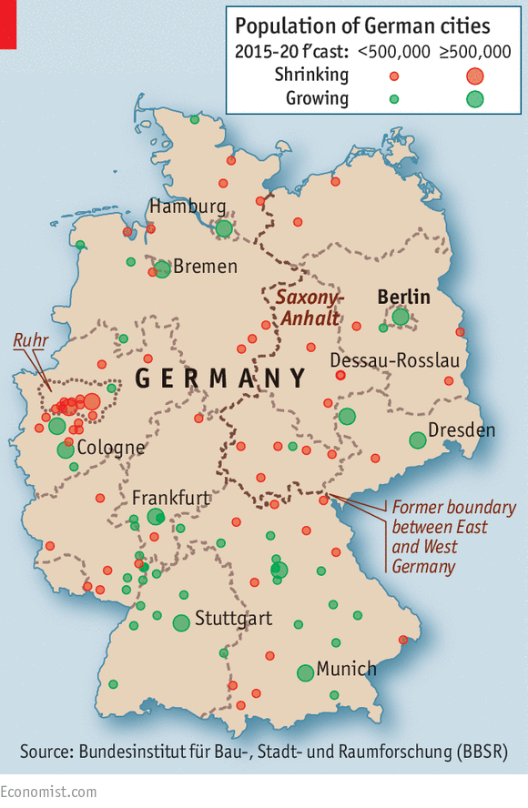 Maps Update 15012001 Map of Germany with States and Cities Map – Map of West Germany with Cities