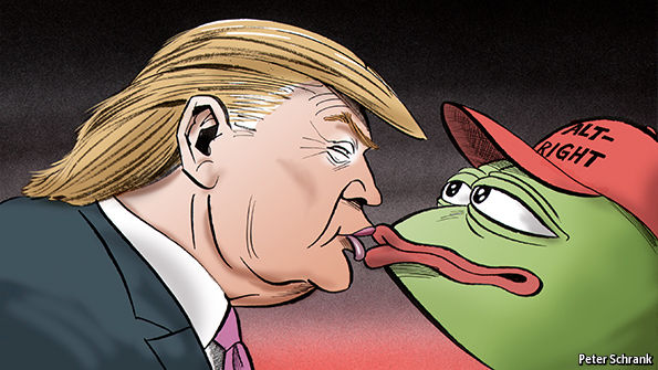 Trump and the Alt-Right: Pepe and the stormtroopers | The Economist
