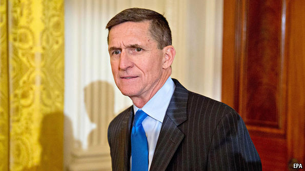 Trump fully briefed on Flynn's calls with Russian ambassador, source says