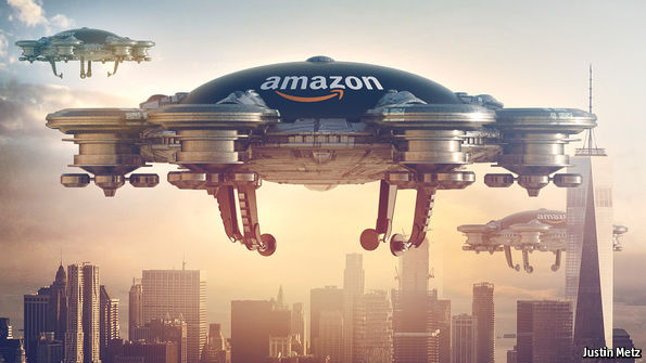 economist.com - Corporate ambitions: Amazon, the world's most remarkable firm, is just getting started
