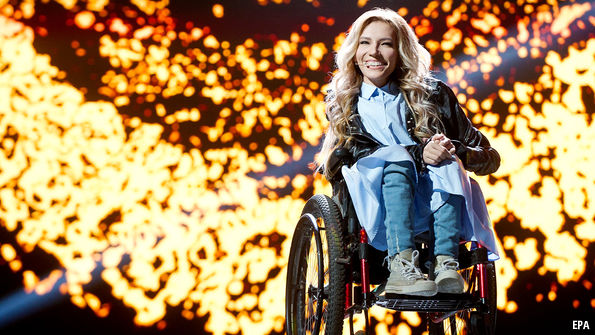 Bring on the 'gorilla:' Eurovision final brings glittery fun