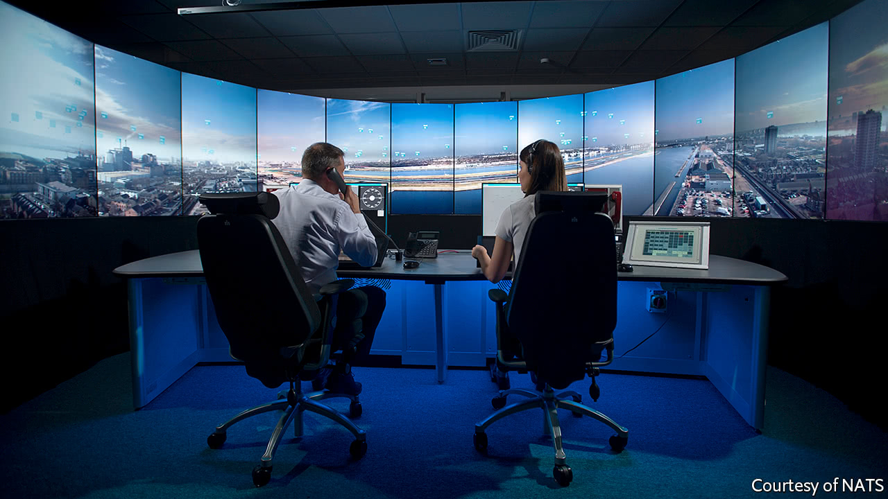 "Airports switch to ""virtual"" control towers"
