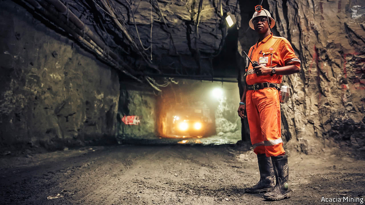 Tanzania's firebrand leader takes on its largest gold miner