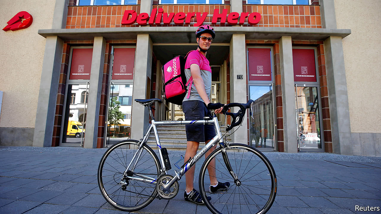 Food-delivery firms like Delivery Hero are thriving