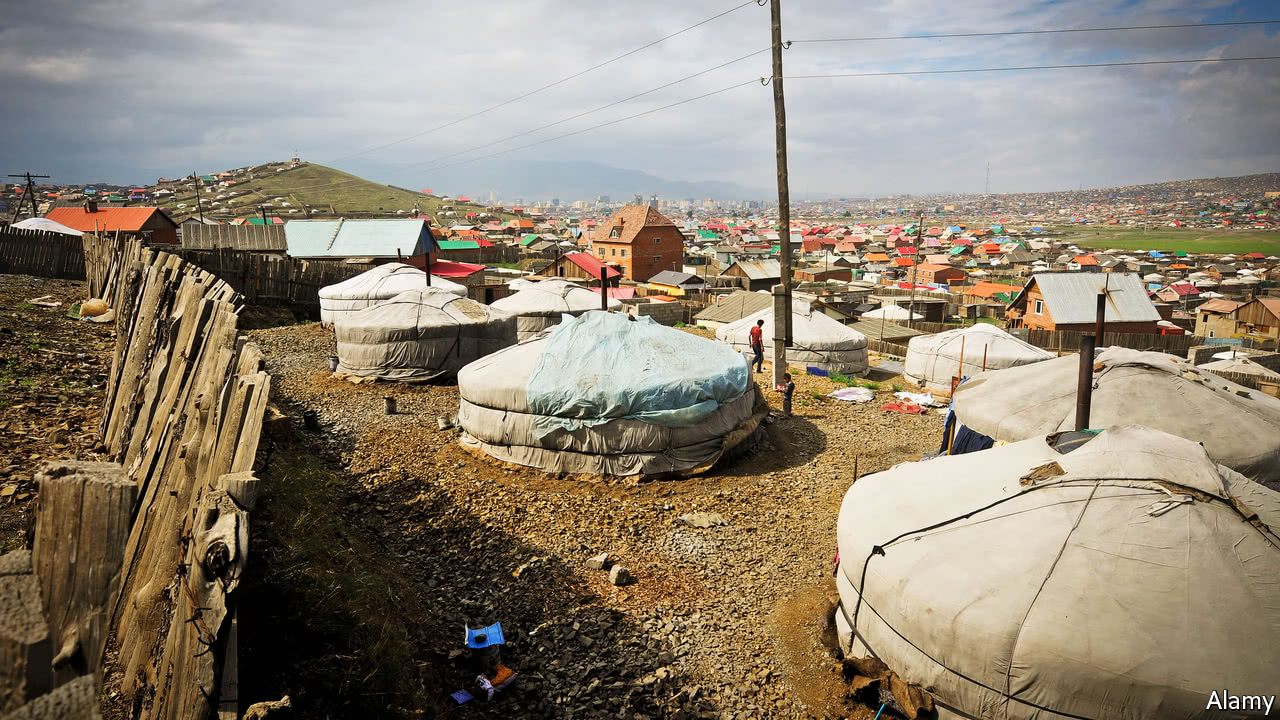 Villas v yurts in Mongolia