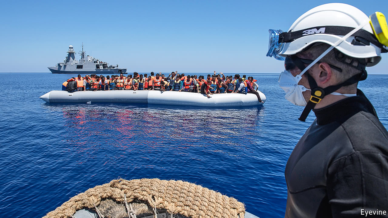 Italy is facing a surge of migration across the Mediterranean
