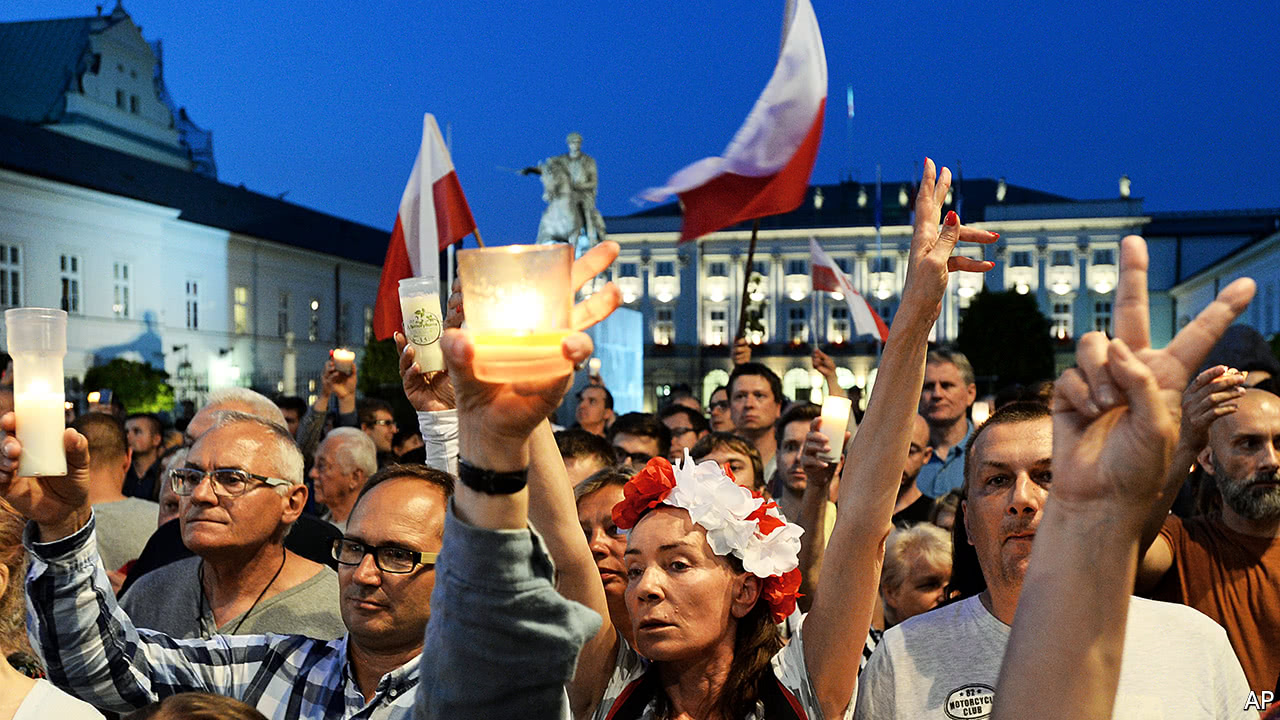 Poland's government is putting the courts under its control
