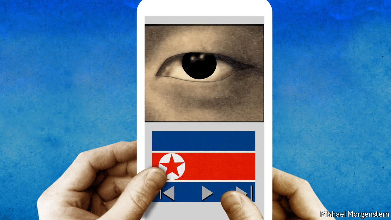 What North Koreans learn from their smartphones