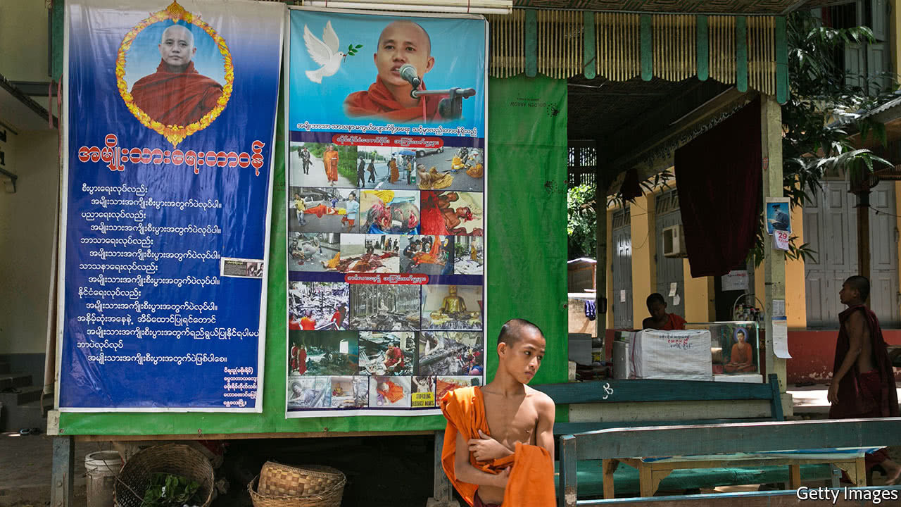 Militant Buddhist monks are stoking sectarian tensions in Myanmar
