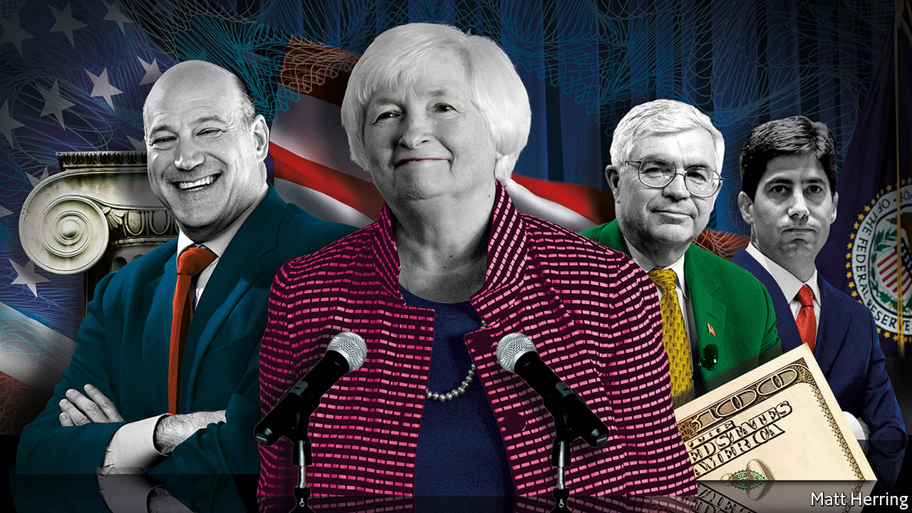 Who will be the next chair of the Federal Reserve?