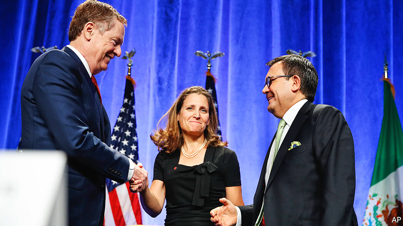 The North American Free-Trade Agreement renegotiation begins