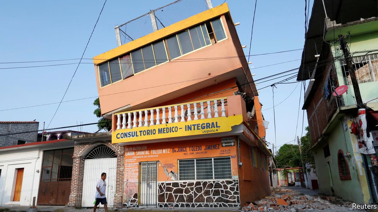 Mexico's quake of the century
