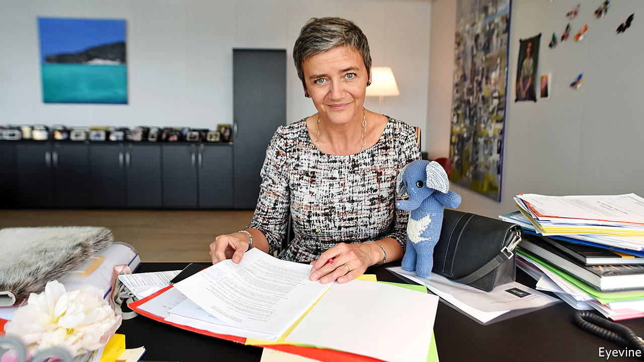 Is Margrethe Vestager championing consumers or her political career?