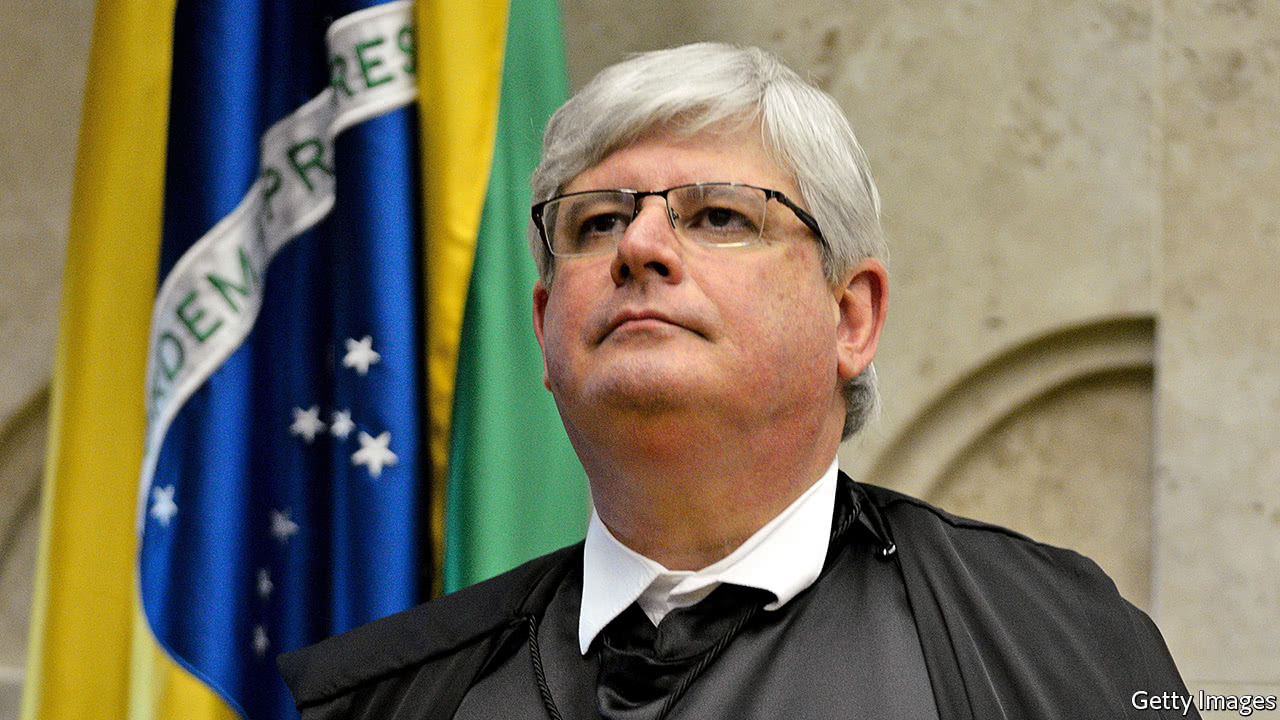 The parting shots of Brazil's chief prosecutor