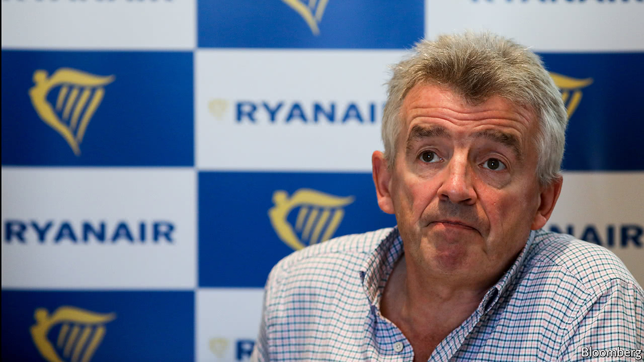 Ryanair cancels more than 2,000 flights over the next six weeks
