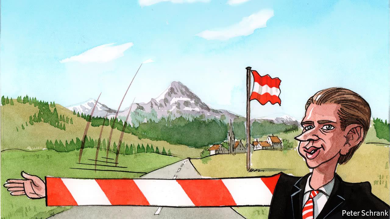 Sebastian Kurz is flirting with the far-right Freedom Party