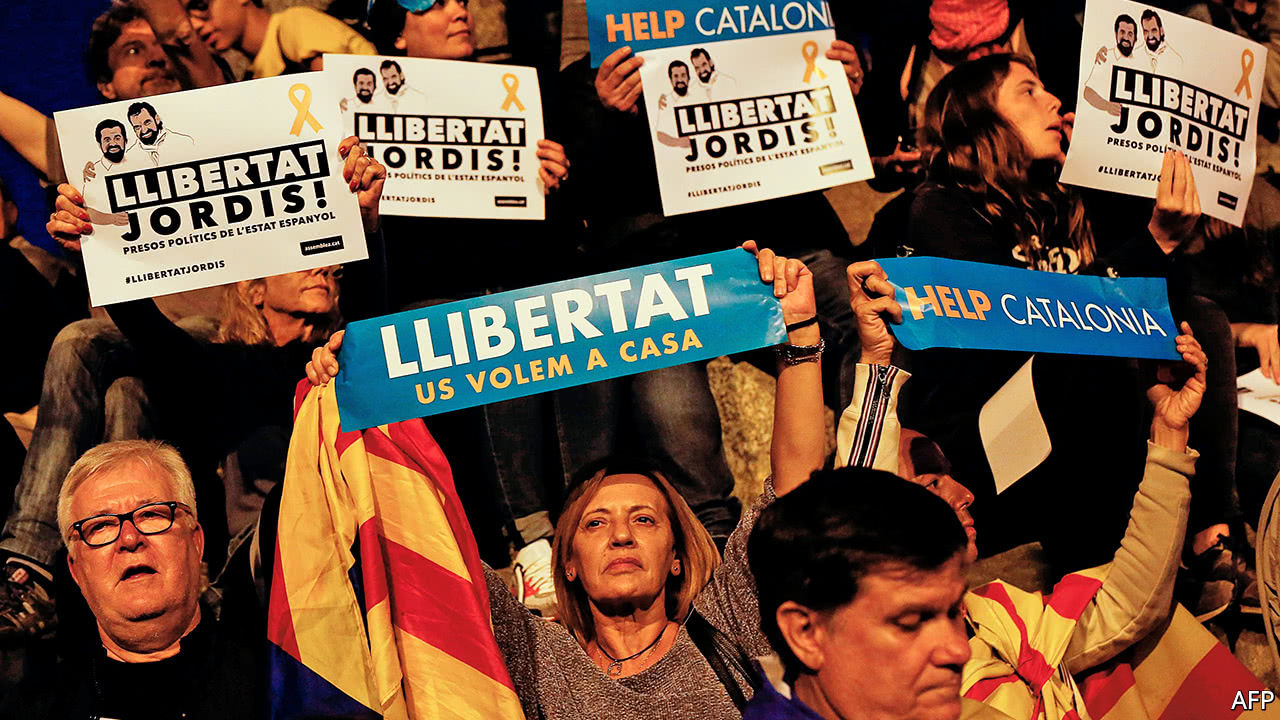 Spain faces a constitutional crisis over Catalonia
