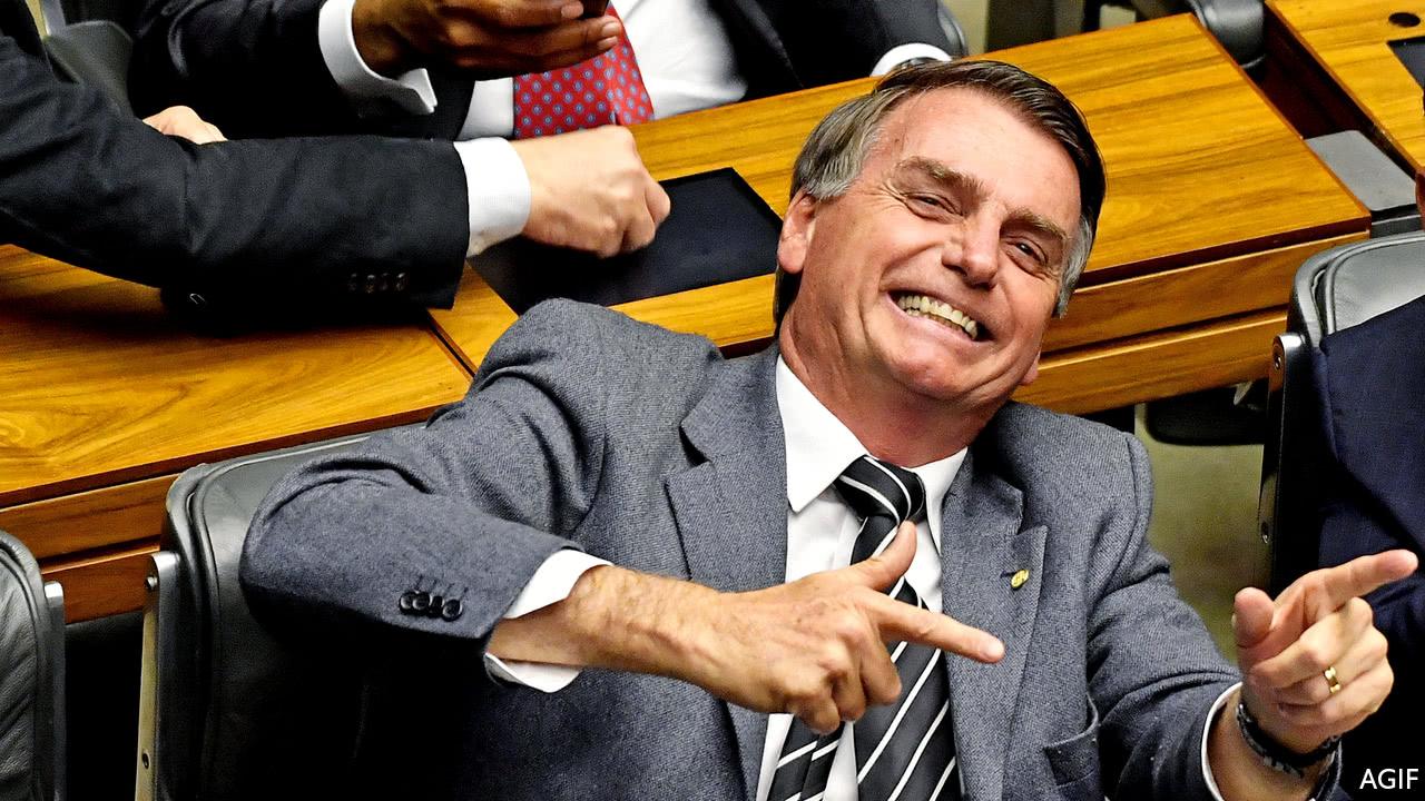 Jair Bolsonaro hopes to be Brazil's Donald Trump