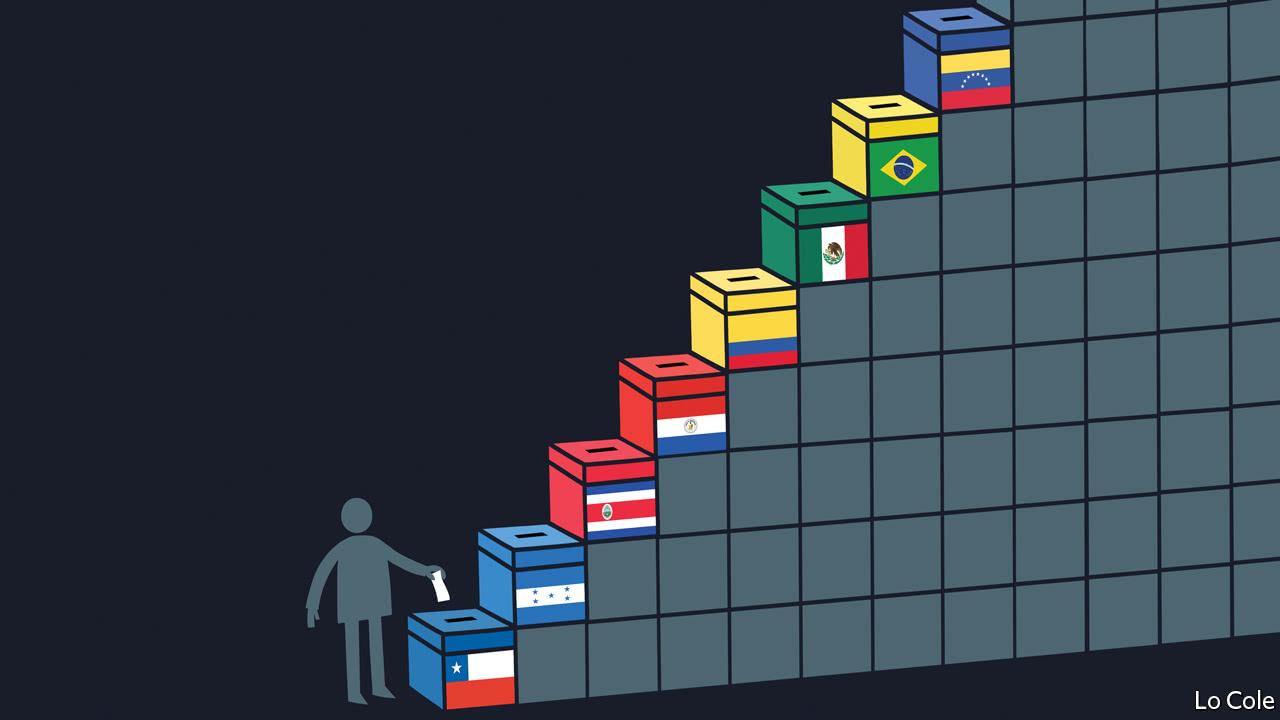 Latin America's voteathon