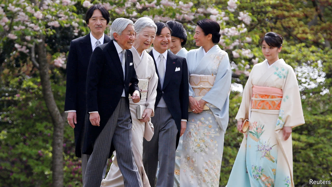 A date is set for the emperor of Japan to retire