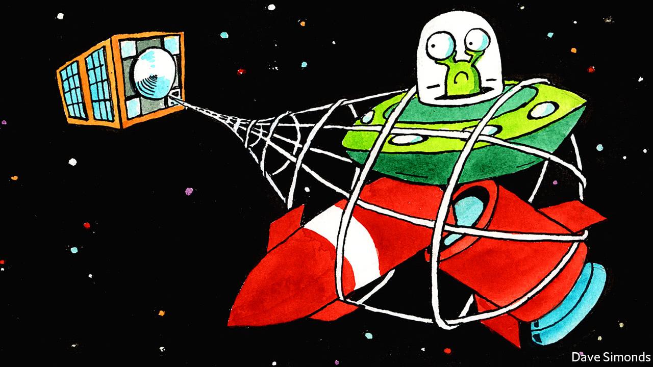 A new satellite will test ways to capture space debris
