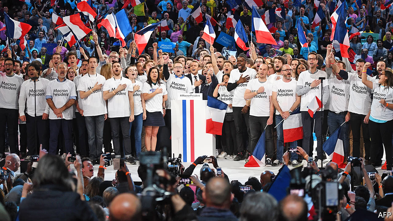 The movement that Emmanuel Macron rode to power needs a new role