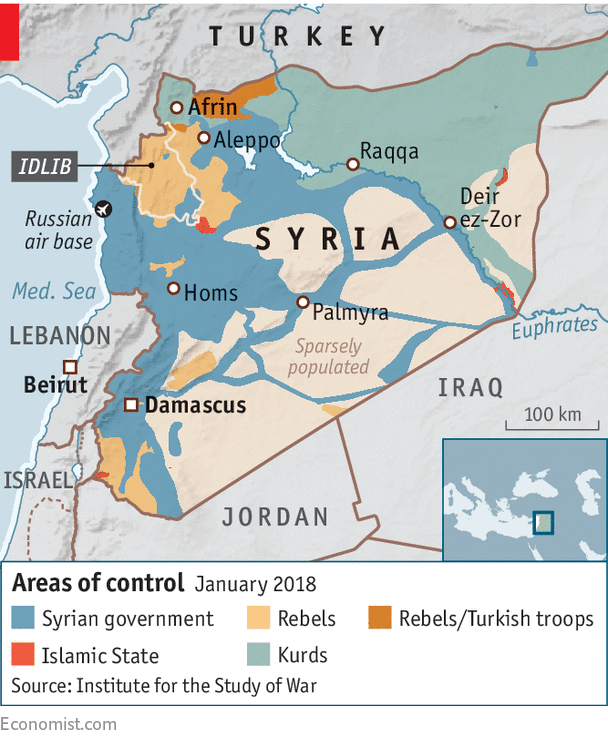 The regime in Syria is closing in on a rebel stronghold