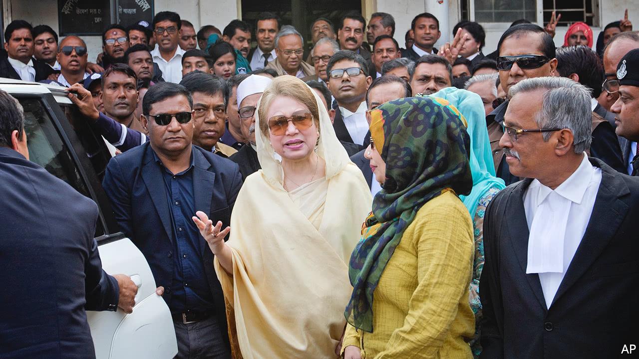 The conviction of Khaleda Zia hobbles Bangladesh's opposition