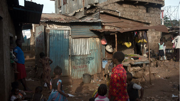 Boomtown Slum The Economist