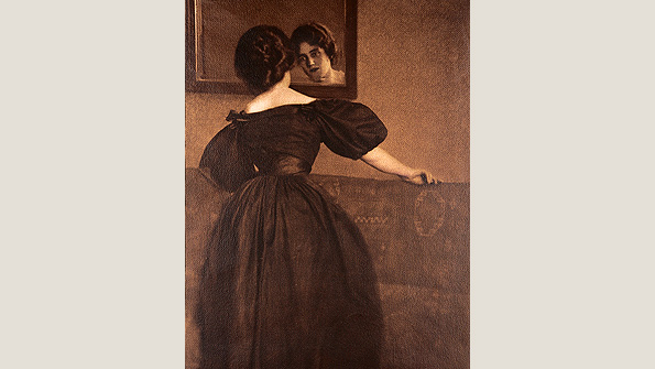 Anna with Mirror, (1902)
