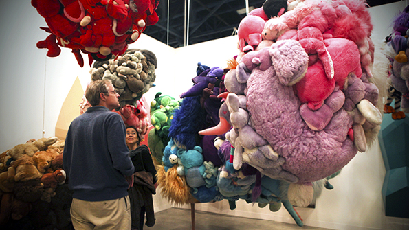 Mike Kelley's installation