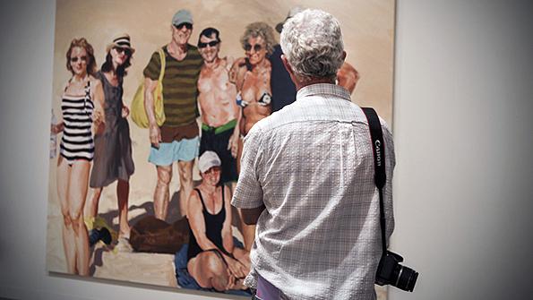 "Eric Fischl's ""Saint Barts Ralphs 70th"""