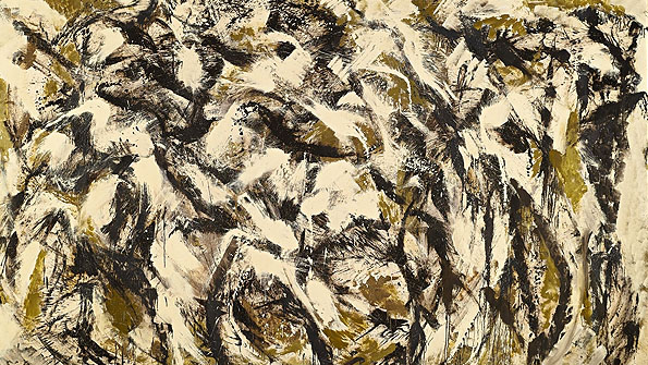 "Lee Krasner ""Polar Stampede"" (1960) achieved $3,177,000"