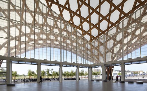 Pompidou-Metz interior