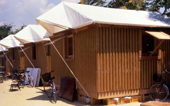 Paper Log Cabin