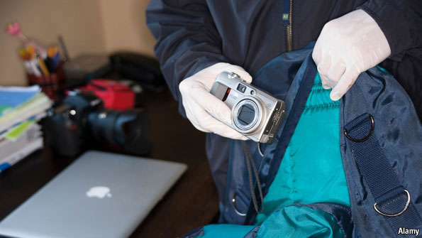 Grand anti-theft photo - Digital fingerprints