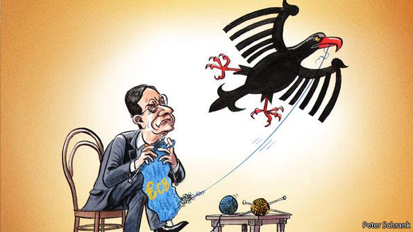 Risultati immagini per germany banks cartoons
