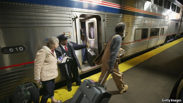 Why don't Americans ride trains?