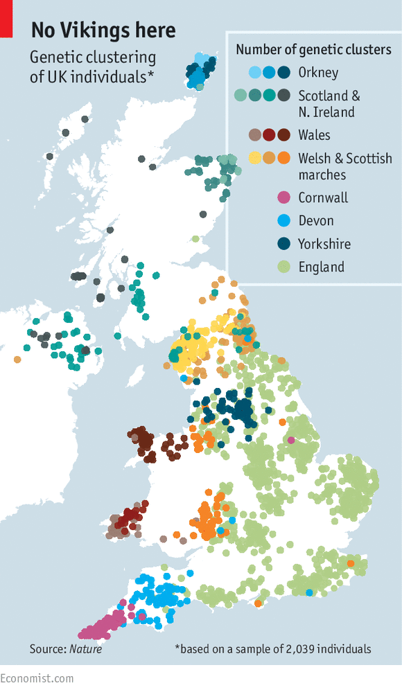 Map Of England Showing Cornwall.Who Do You Think You Are The Genetic History Of Britain